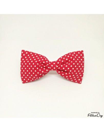piros polka csokornyakkendő