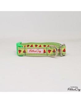 zöld dinnyés mini nyakörv
