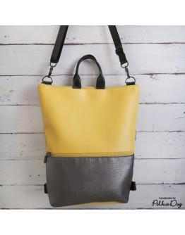 3:1 sárga-graphite táska
