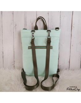 3:1 menta-bronz táska