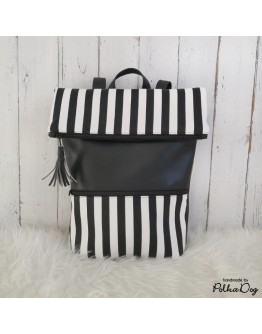 zebra hátizsák