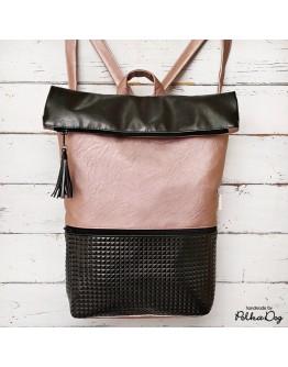 rosegold & fekete gyémánt hátizsák